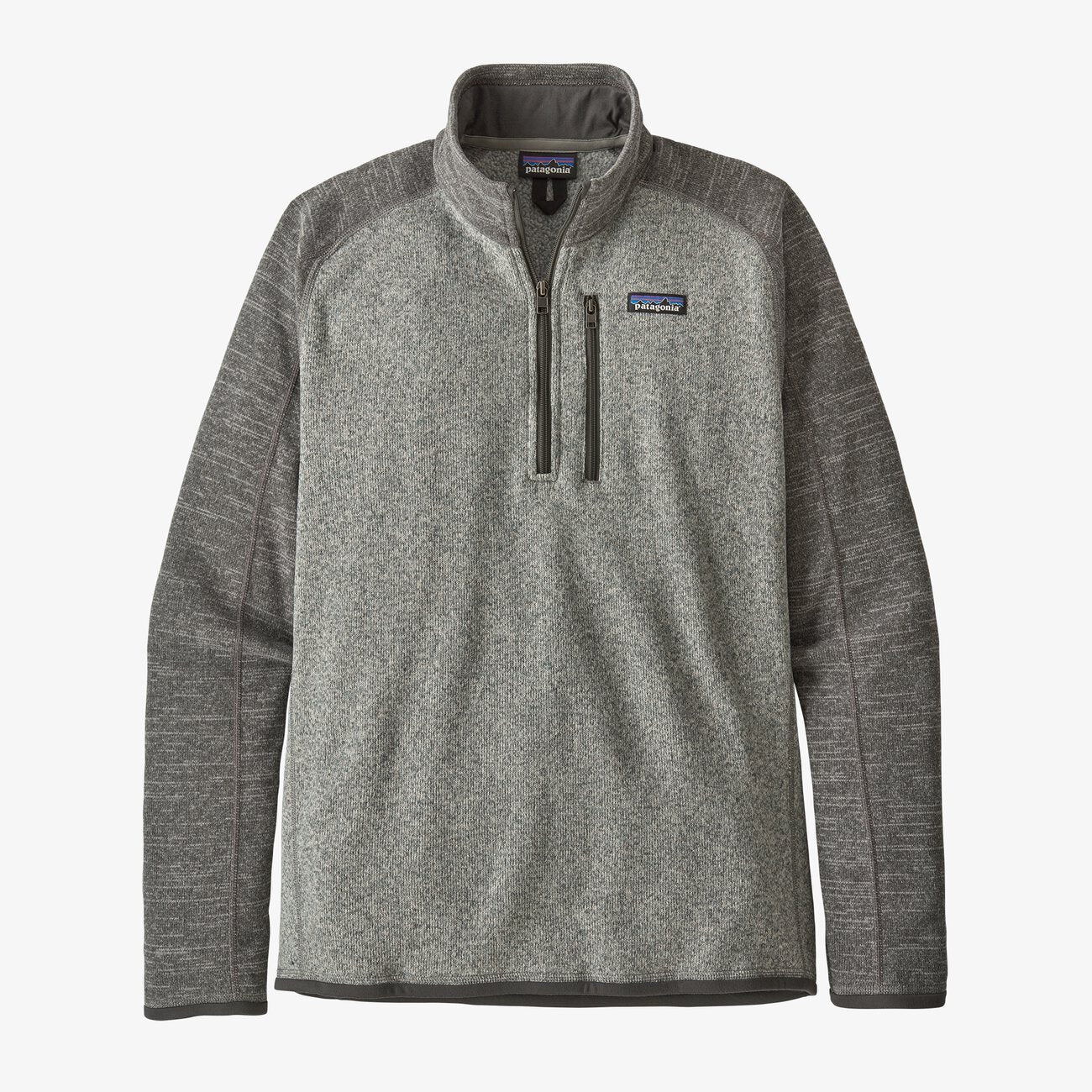 Patagonia Better Sweater 1/4 Zip - Nickel / Forge Grey