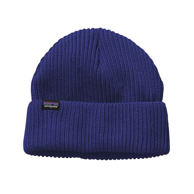 Patagonia Fishermans Rolled Beanie Cobolt Blue