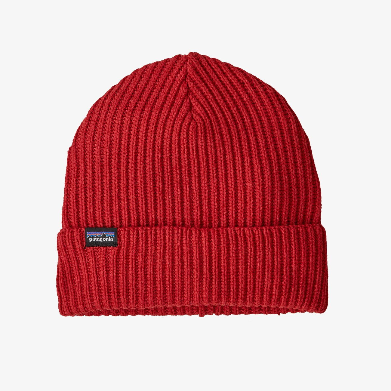 Patagonia Fisherman's Rolled Beanie - Hot Ember