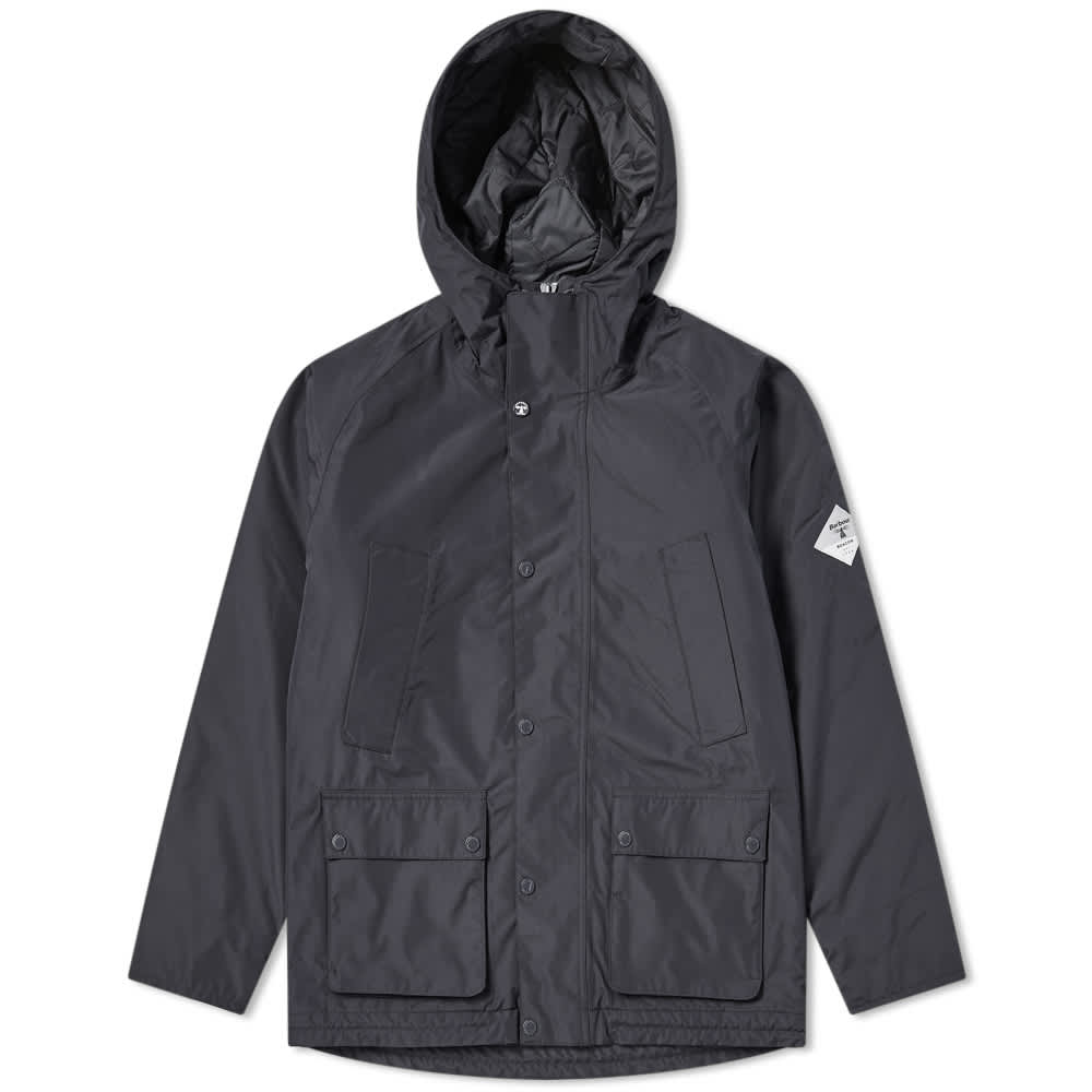 Barbour Beacon Hooded Bedale Jacket - Navy
