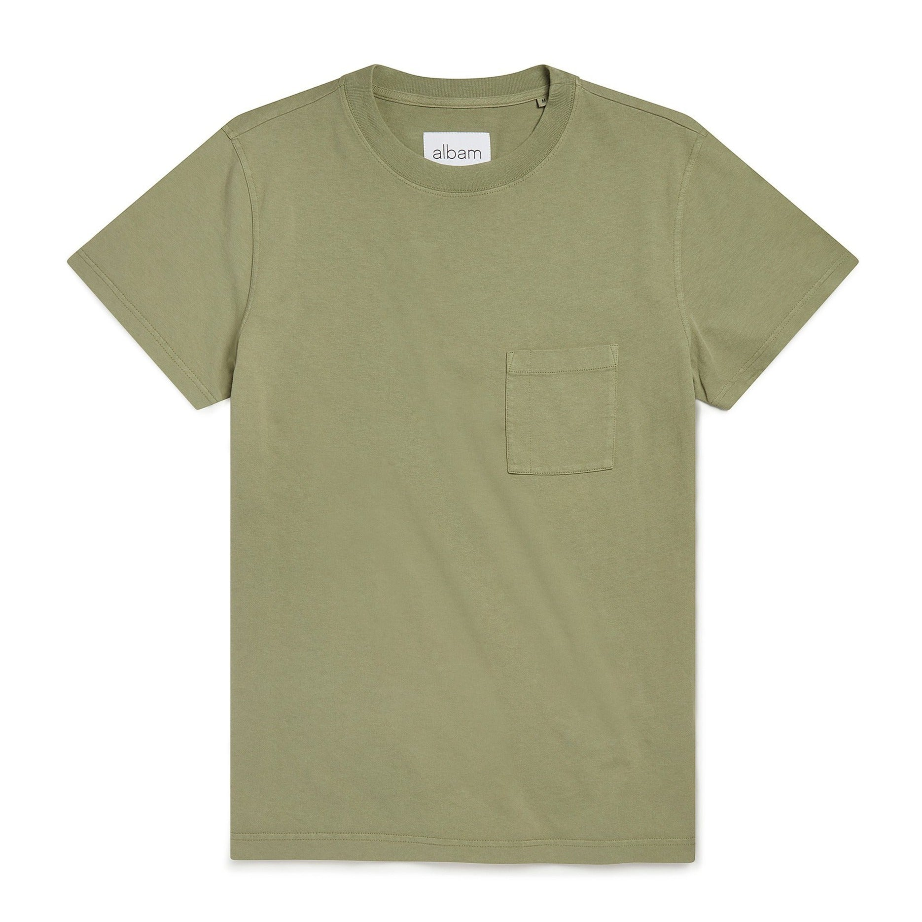 Albam Workwear T-Shirt - Oil Green