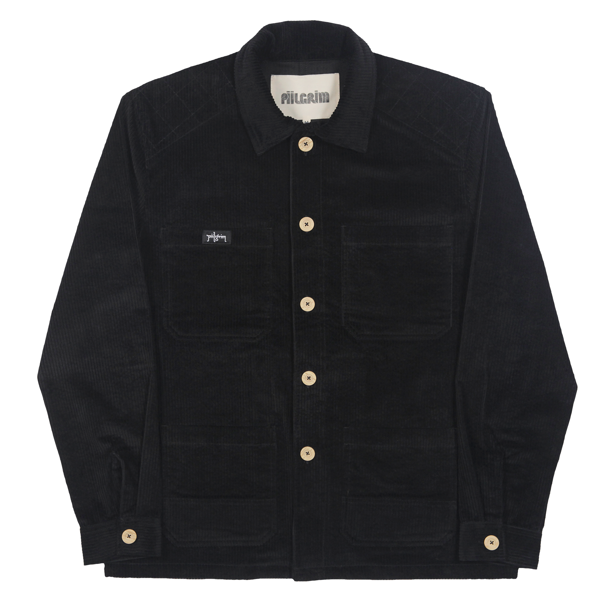 Piilgrim Brewers Overshirt - Black