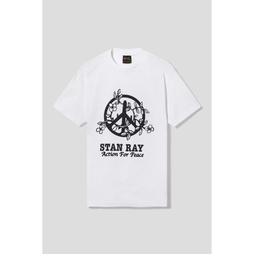 Stan Ray Action 4 Peace T-Shirt White