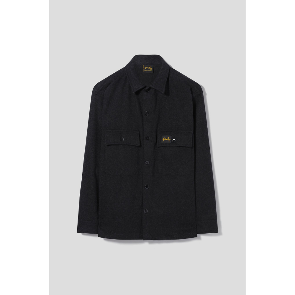 Stan Ray Wool CPO Shirt Charcoal
