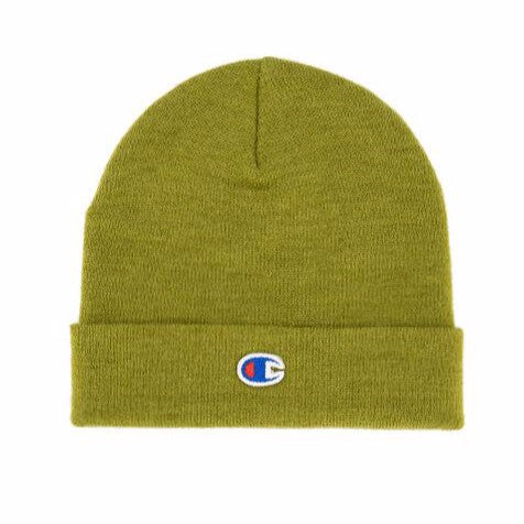 Champion Reverse Weave Basic Beanie Olive Green