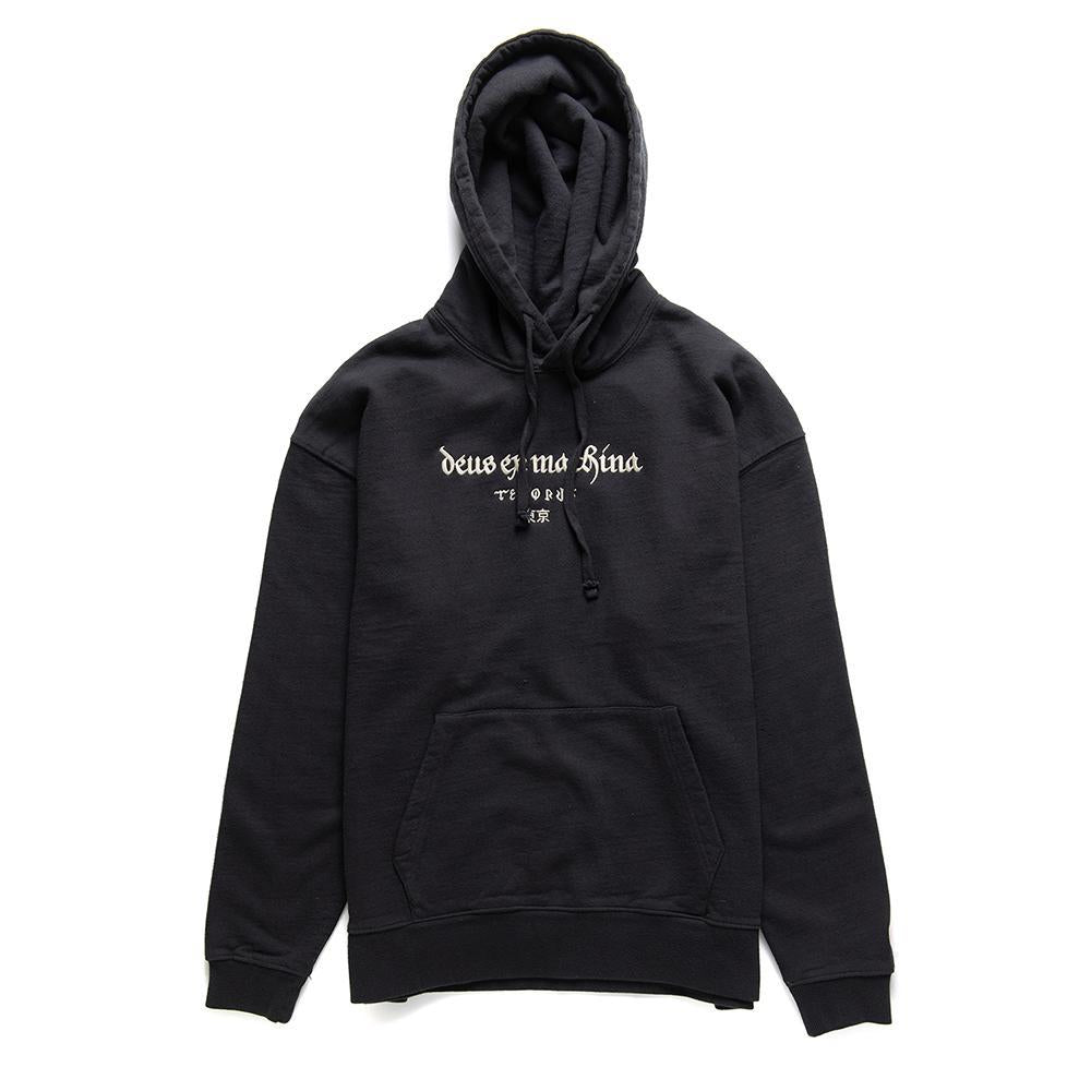 Deus Ex Machina Full Moon Hood Phantom Black
