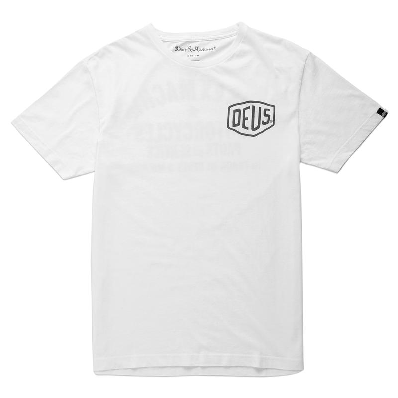 Deus Ex Machina Milano Address T-Shirt - White