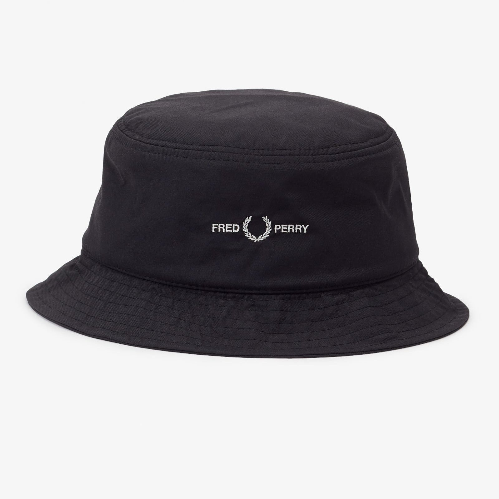 Fred Perry Sports Twill Bucket Hat Black