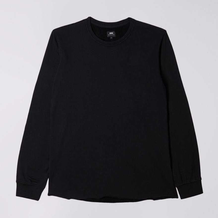 Edwin Terry LS Sweat Black