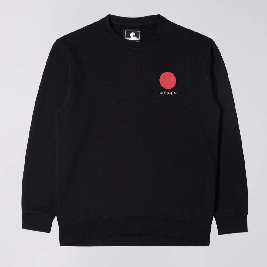 Edwin Japanese Sun Sweat Black