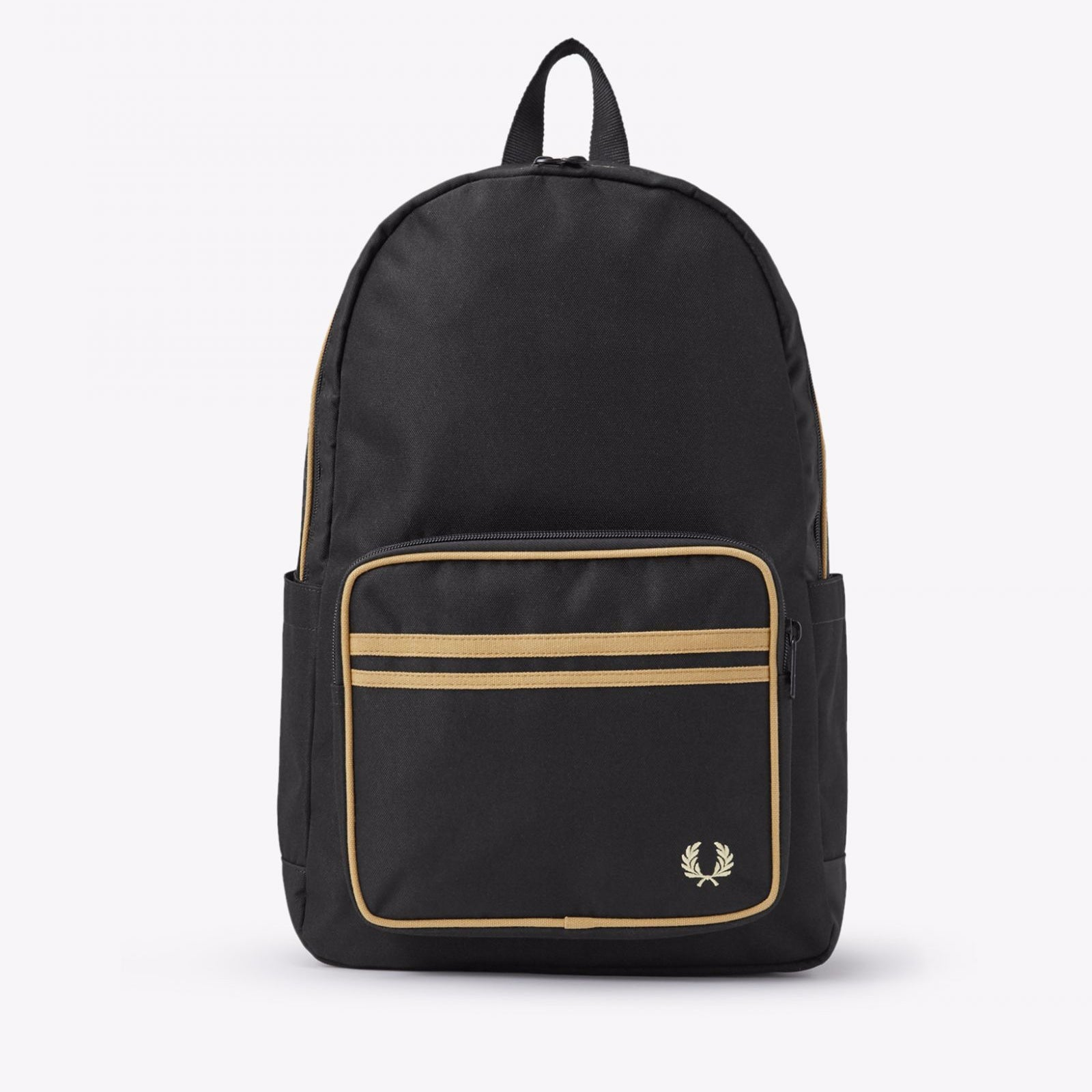 Fred Perry Twin Tipped Backpack Black / Champange