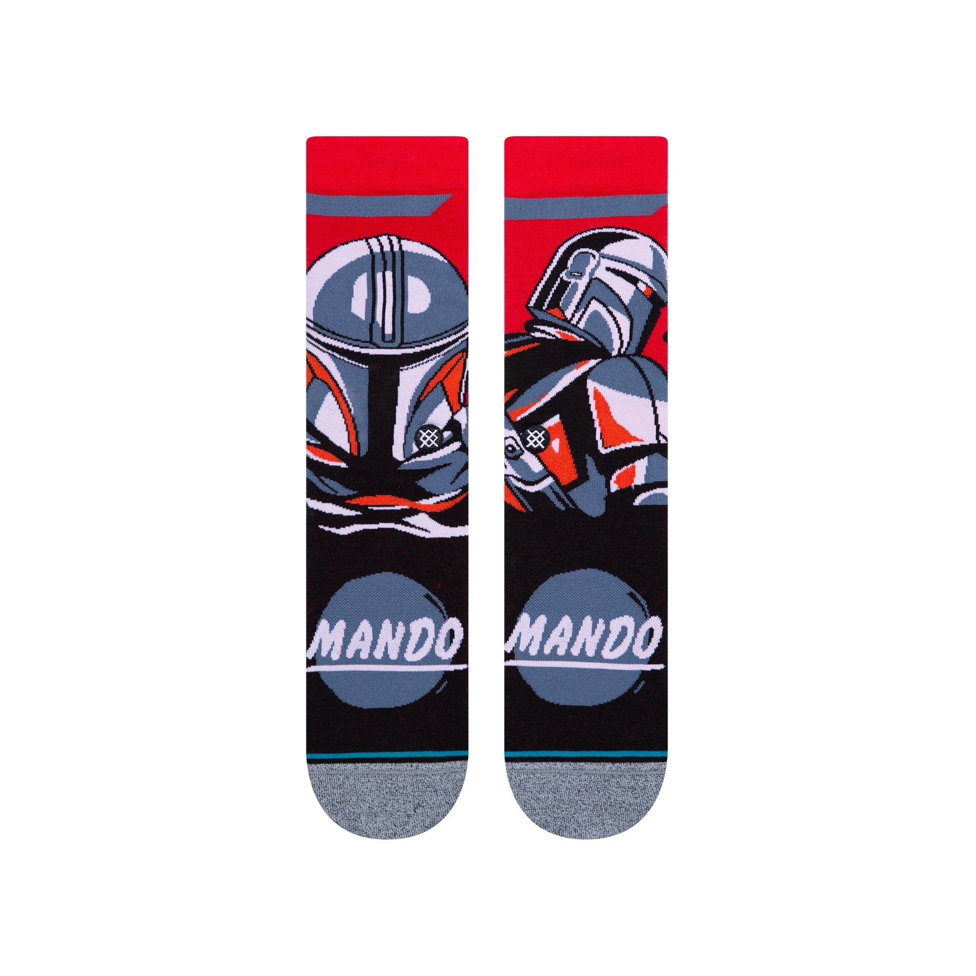 Stance Besker Steel Socks Red