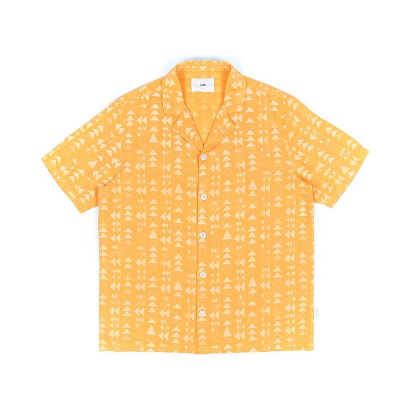 Folk Soft Collar Shirt Marigold