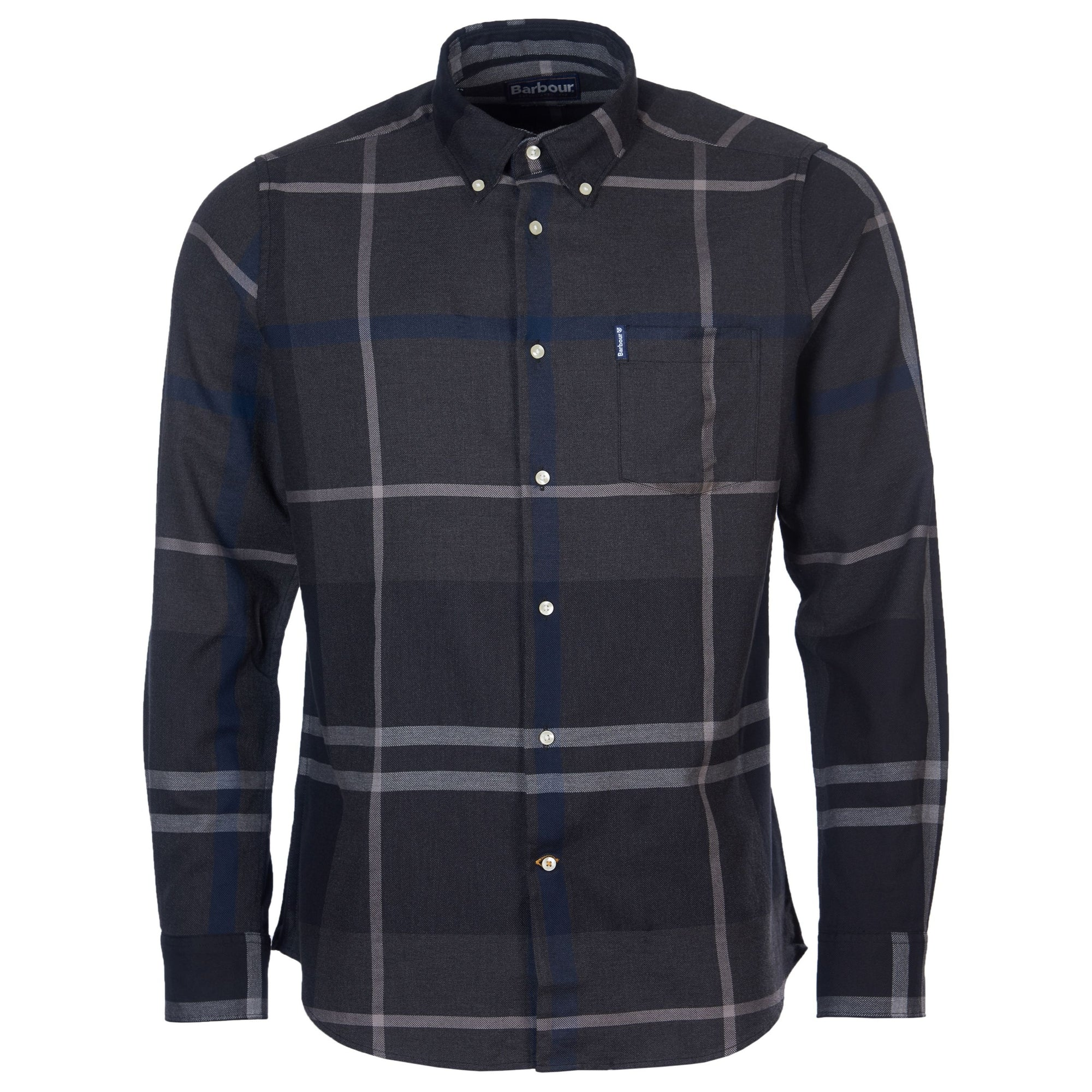 Barbour Dunoon Shirt Graphite