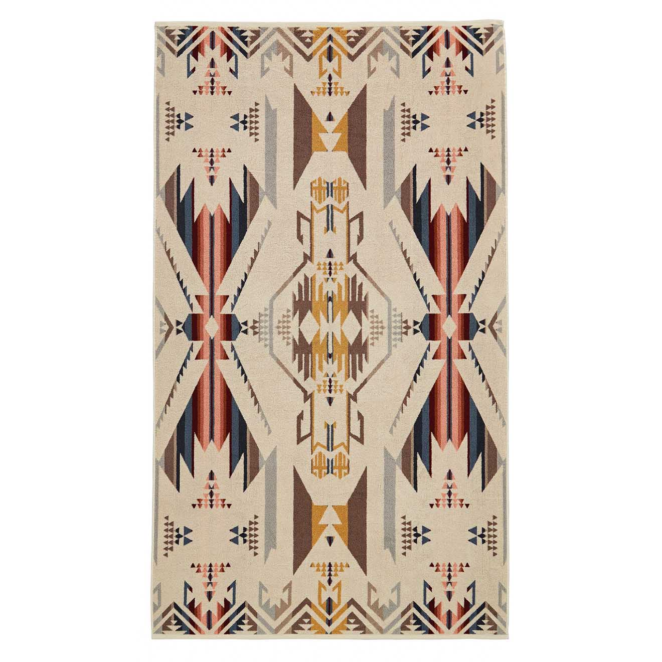 Pendleton Oversized Towel White Sands Tan