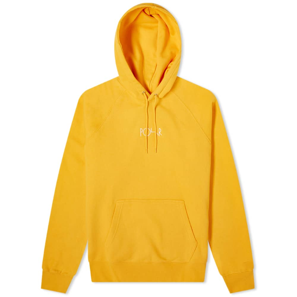Polar Skate Co Default Hoodie Yellow