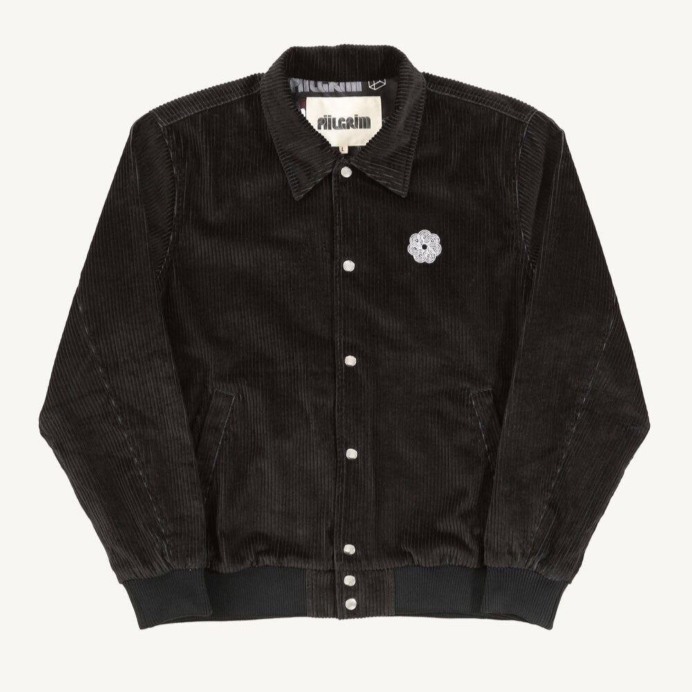 Piilgrim Savage Henry Corduroy Jacket Black