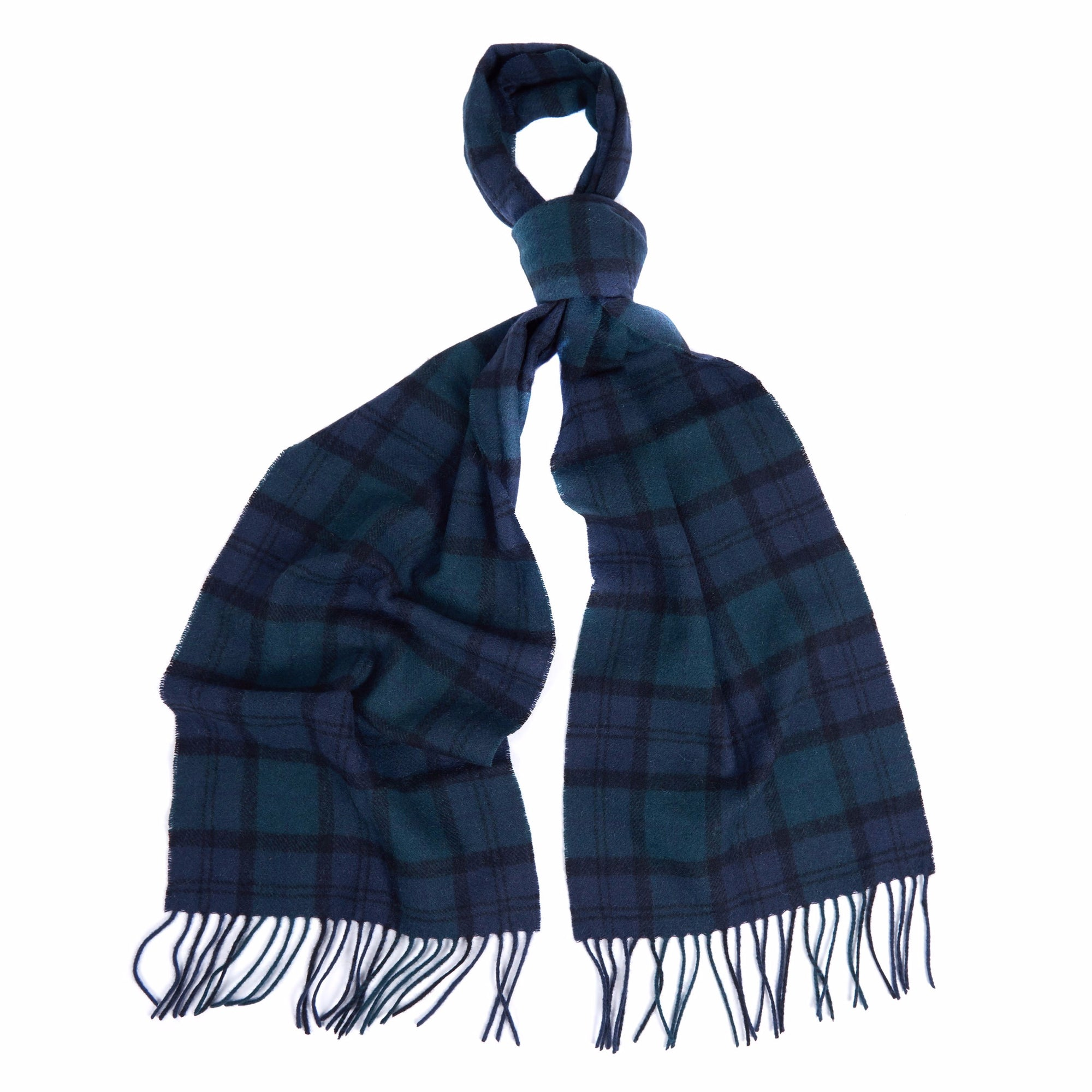 Barbour Tartan Lambswool Scarf - Blackwatch