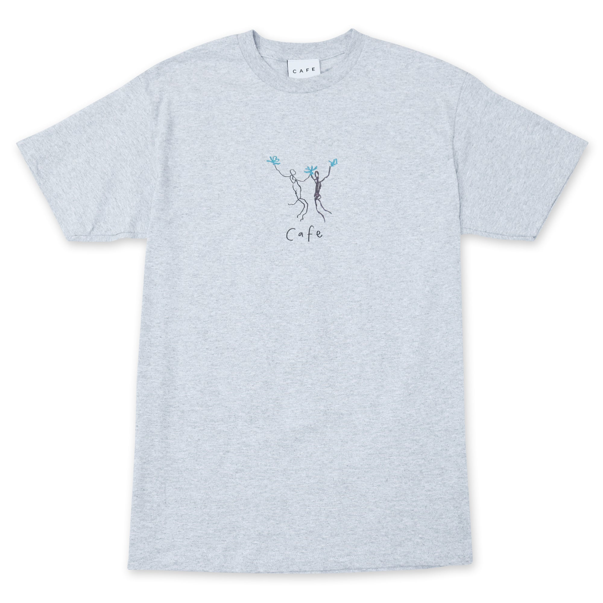 Skateboard Café Unity T-Shirt - Heather Grey