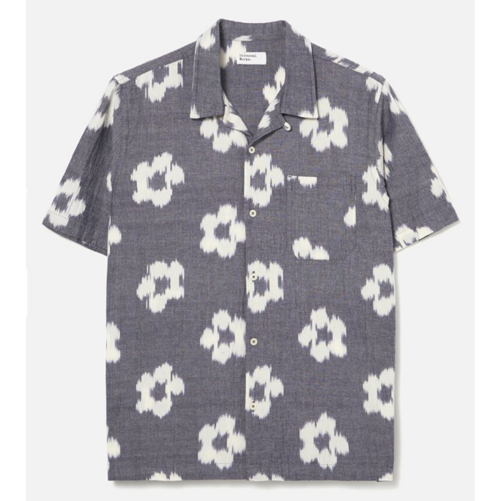 Universal Works Road Shirt Ikat Flower