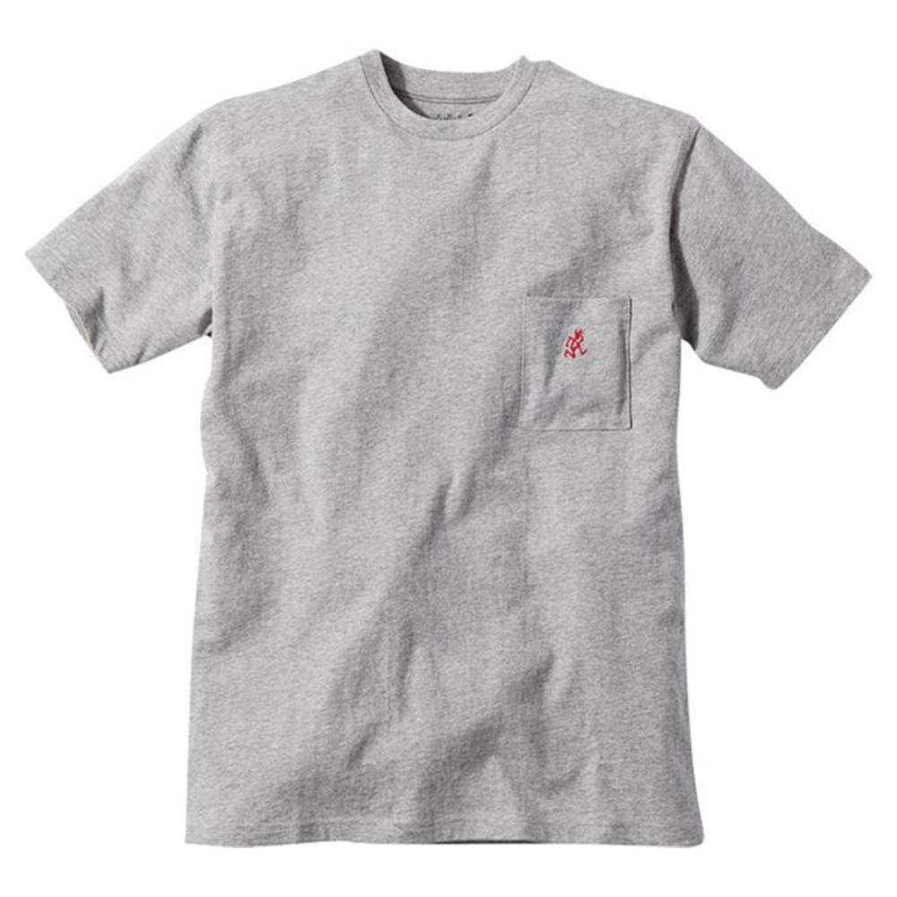 Gramicci One Point T-Shirt Heather Grey