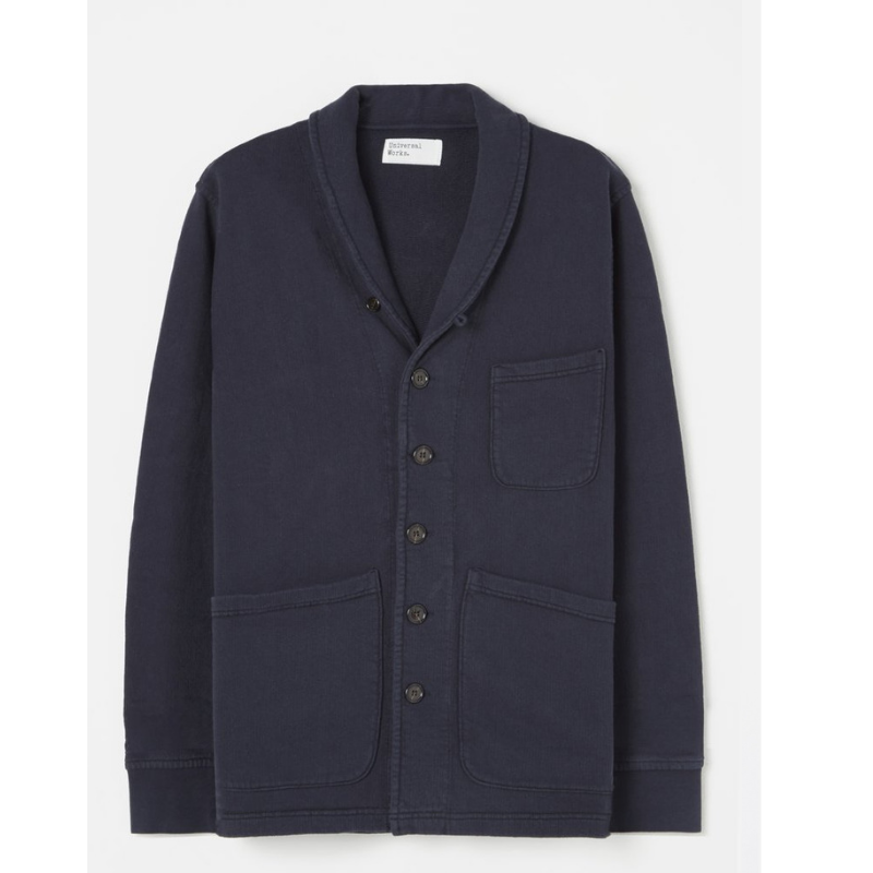 Universal Works Prairie Jacket Navy