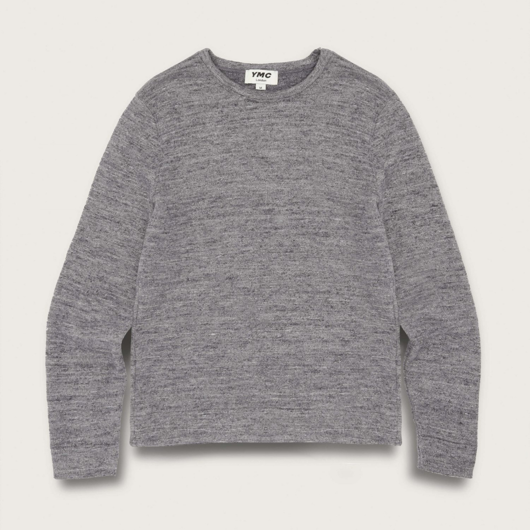 YMC X Cotton Marl Sweatshirt Grey Marl