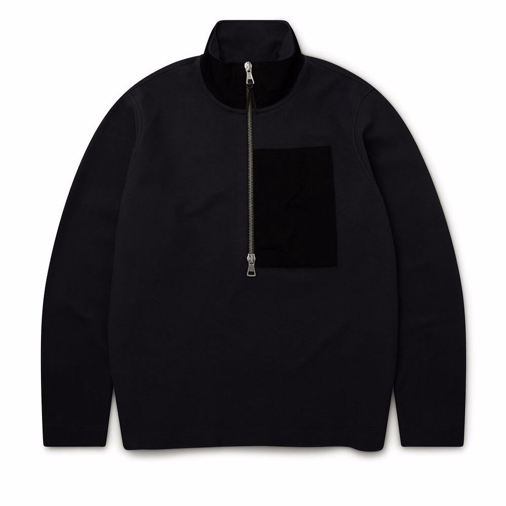 Albam Sport Fleece Pulover Black