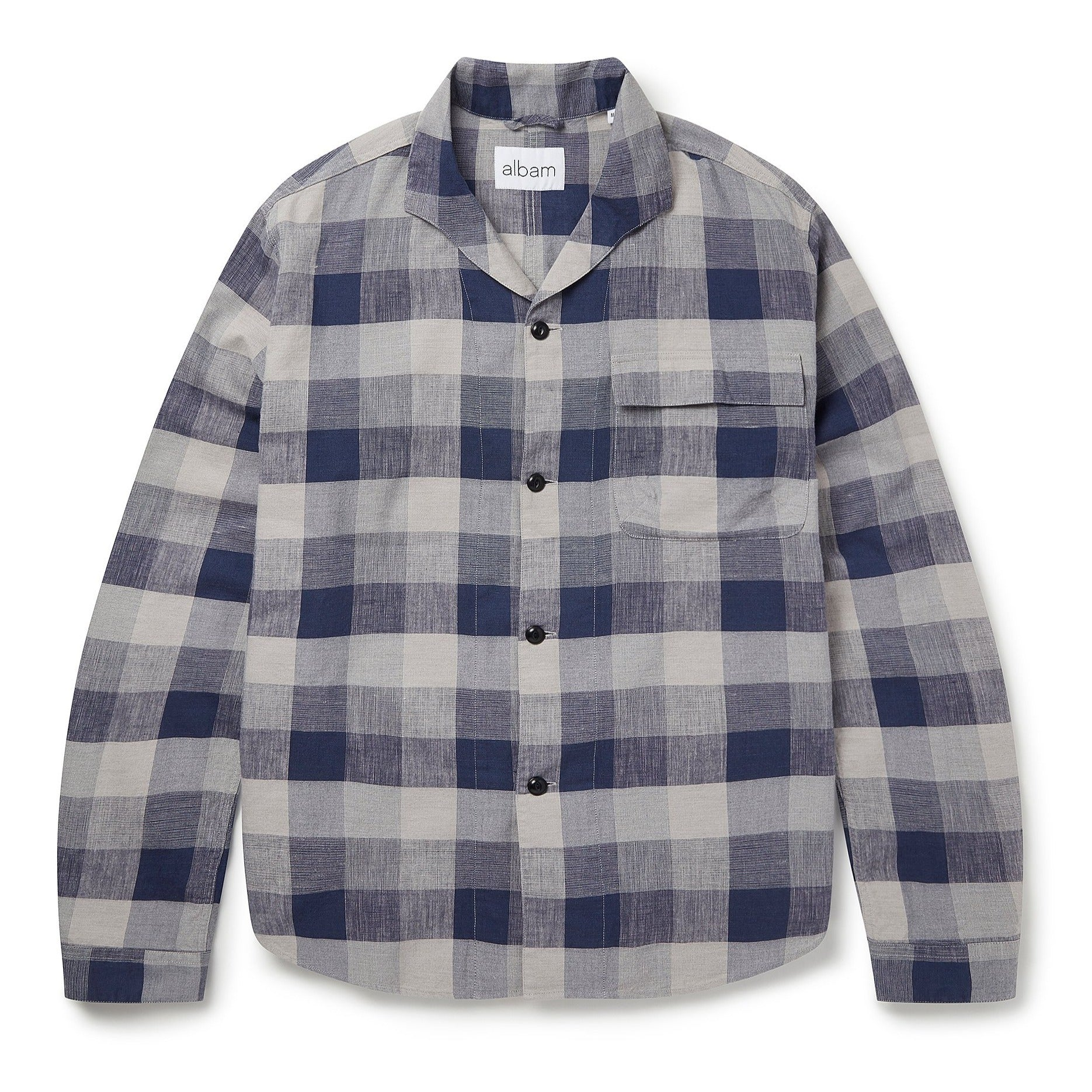 Albam Miles Shirt - Blue Check