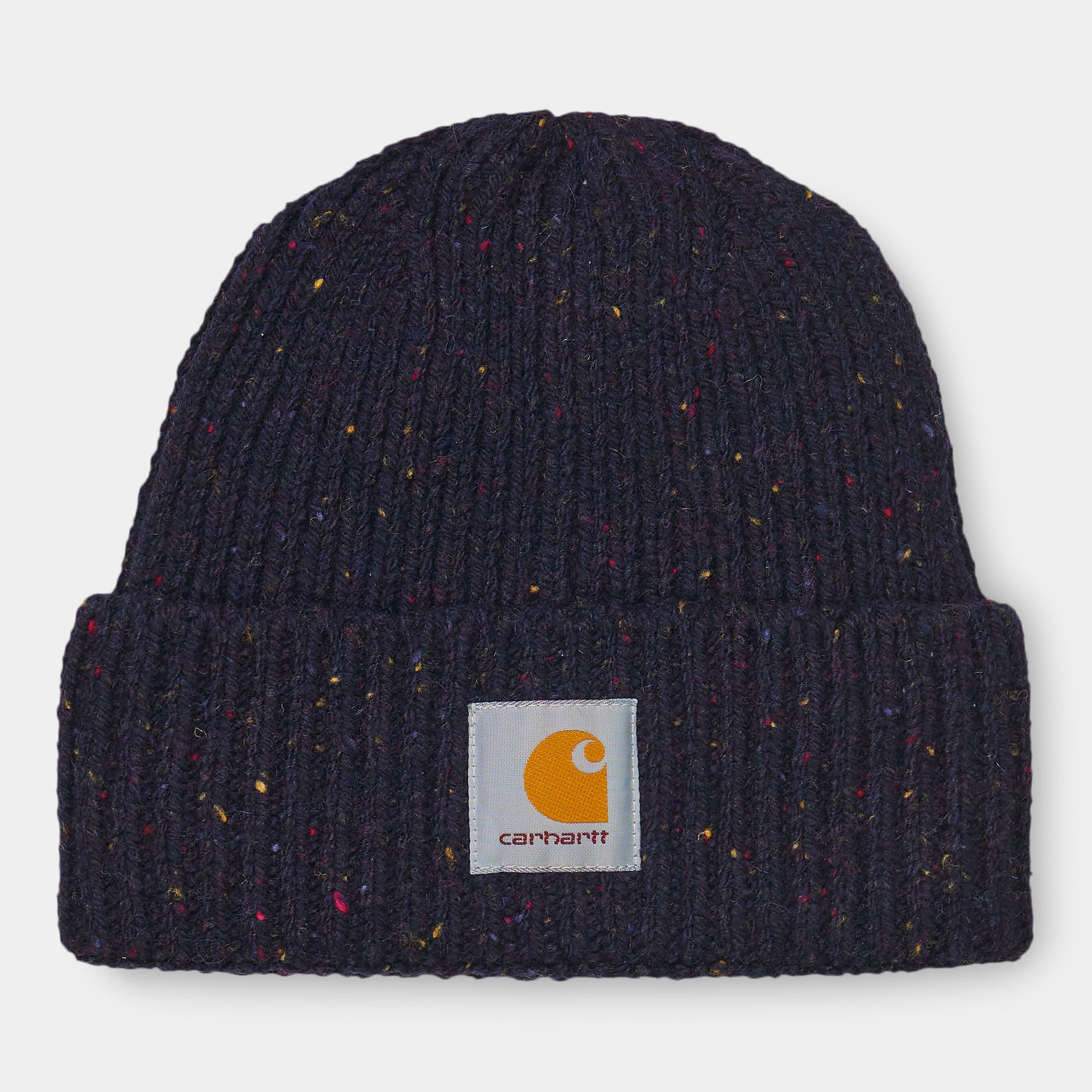 Carhartt WIP Anglistic Beanie Dark Navy Heather
