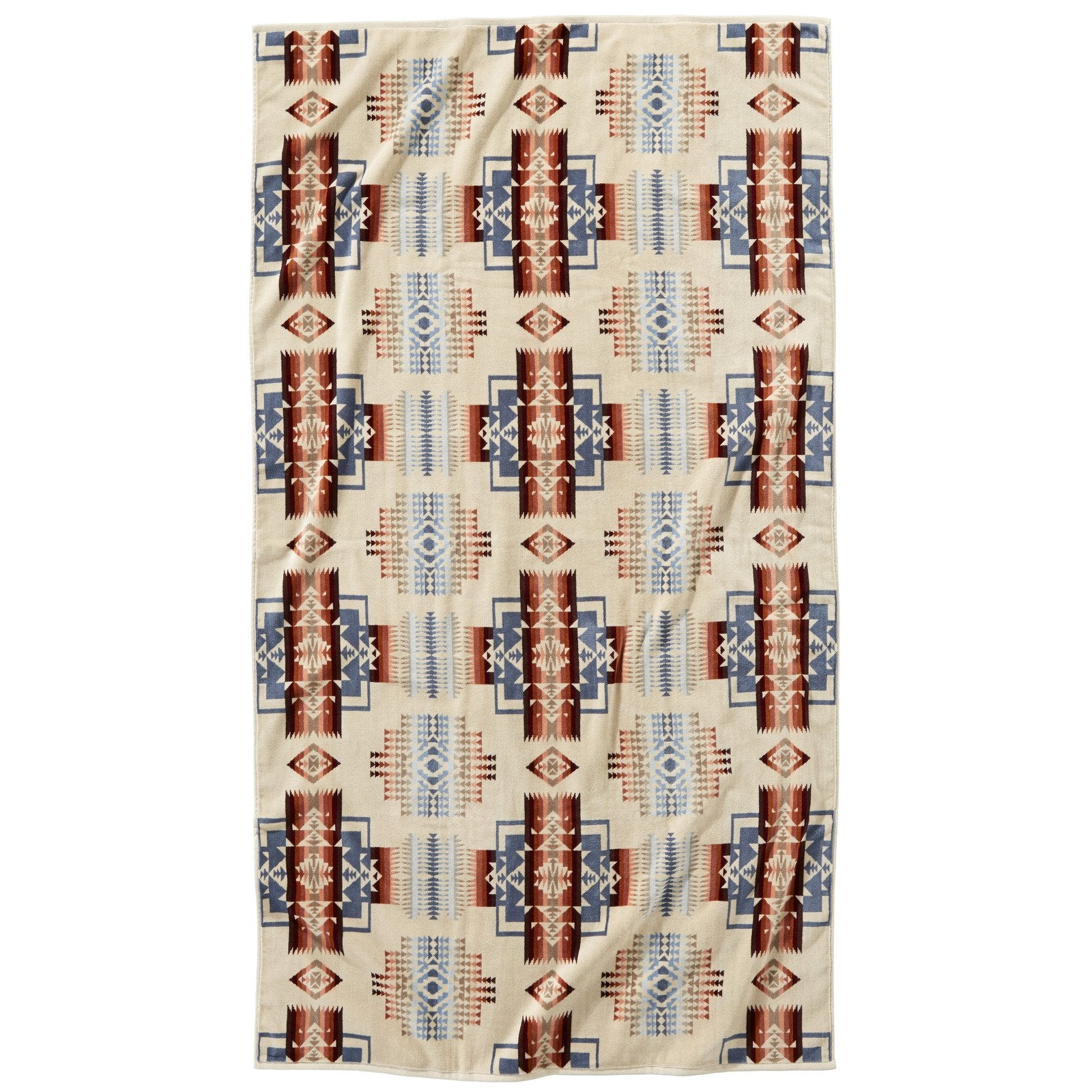 Pendleton Oversized Towel Chief Joseph Rosewood