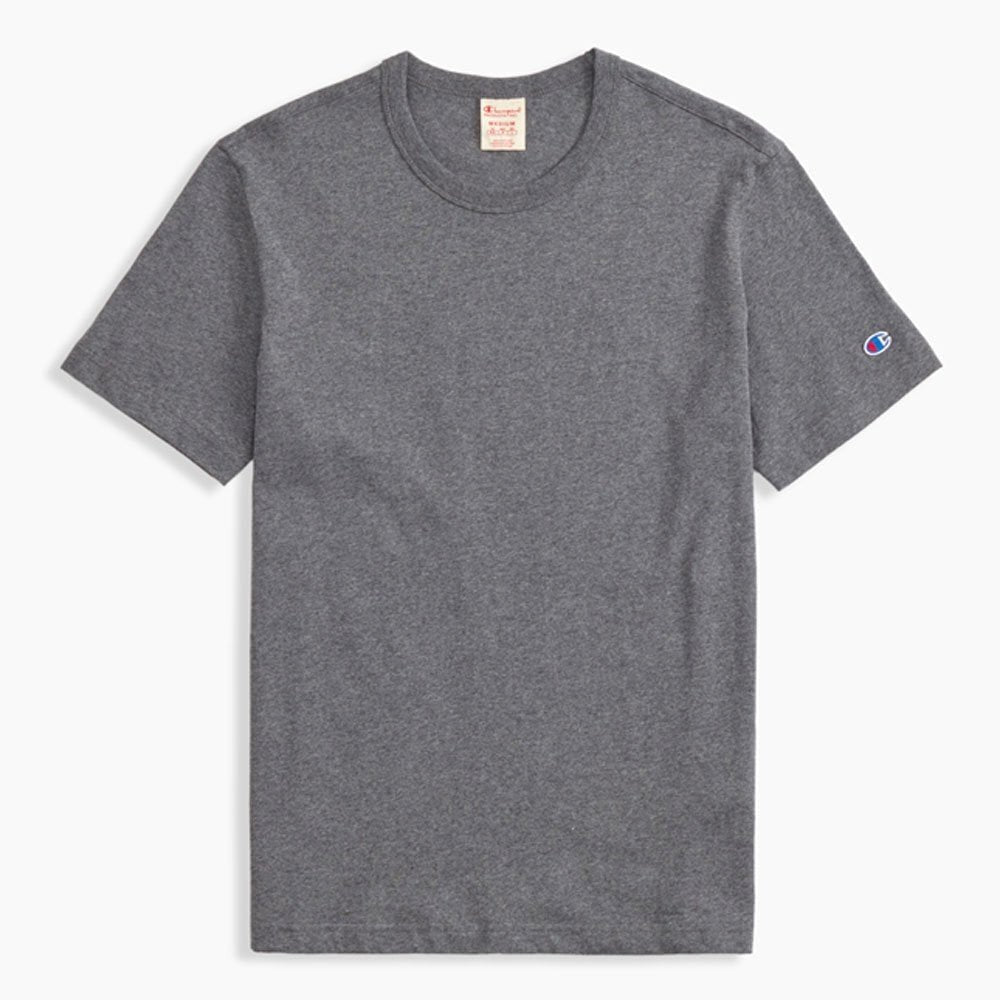 Champion Reverse Weave C Crew T-Shirt Dark Grey