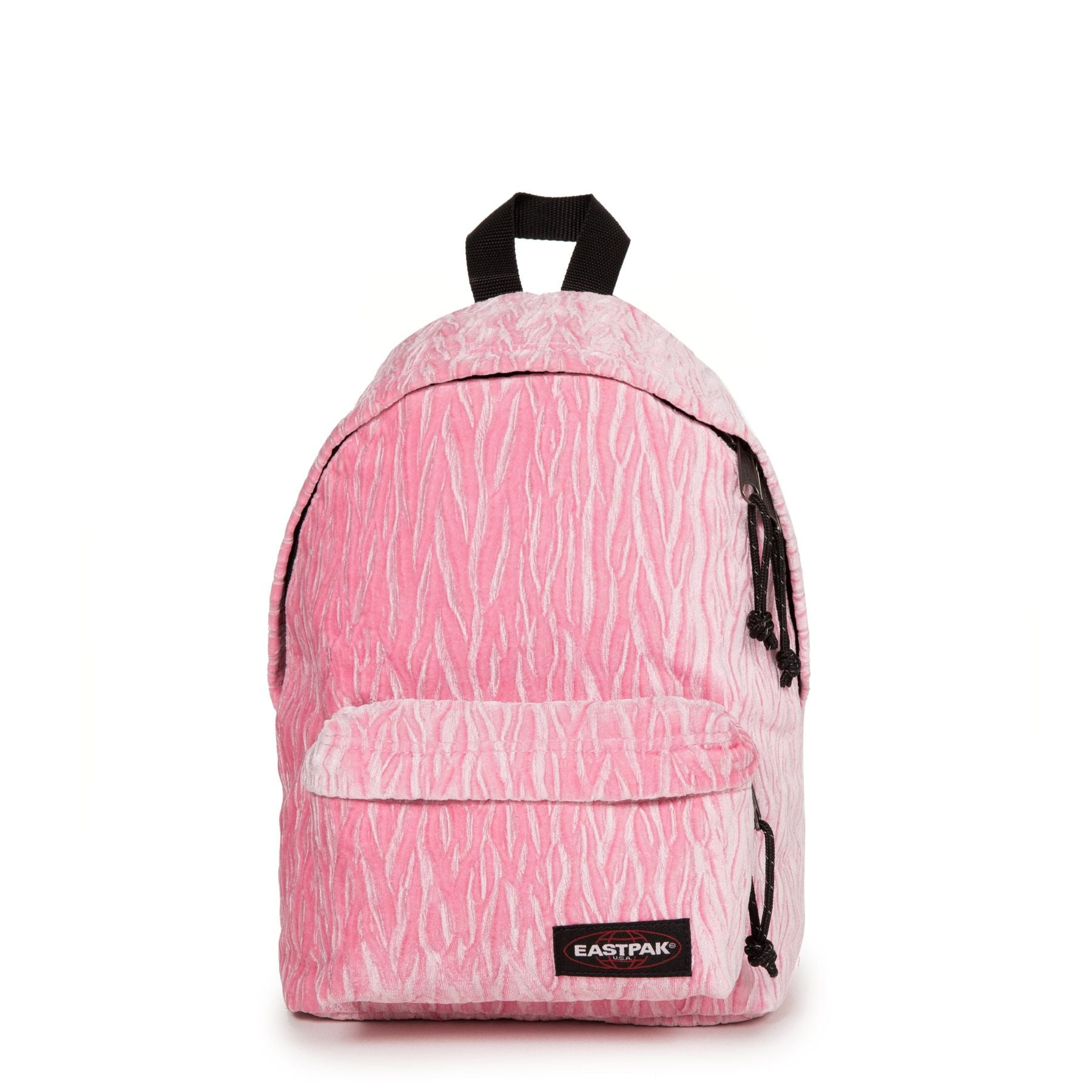 Eastpak Orbit Velvet Backpack Pink