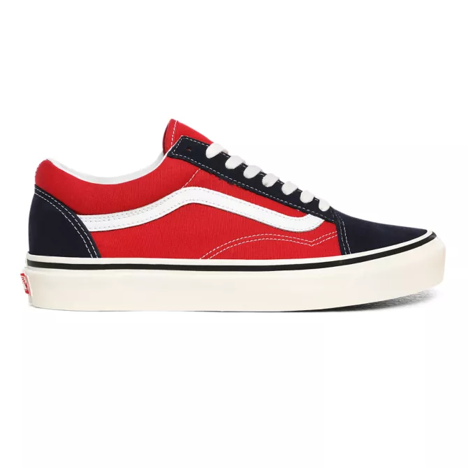 Vans Old Skool 36 DX OG Navy / OG Red