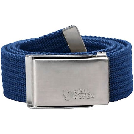 Fjallraven Canvas Belt Deep Blue