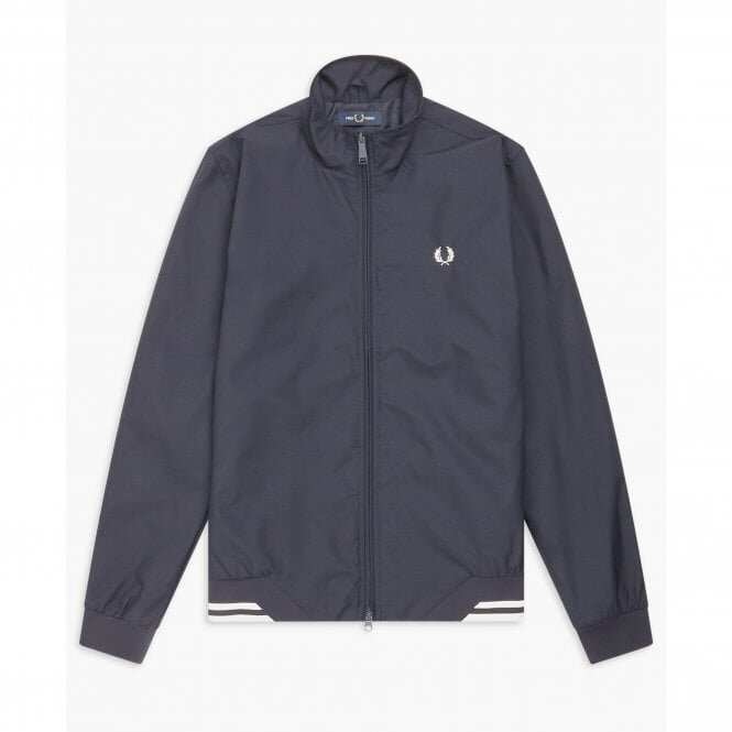 Fred Perry Brentham Jacket Charcoal