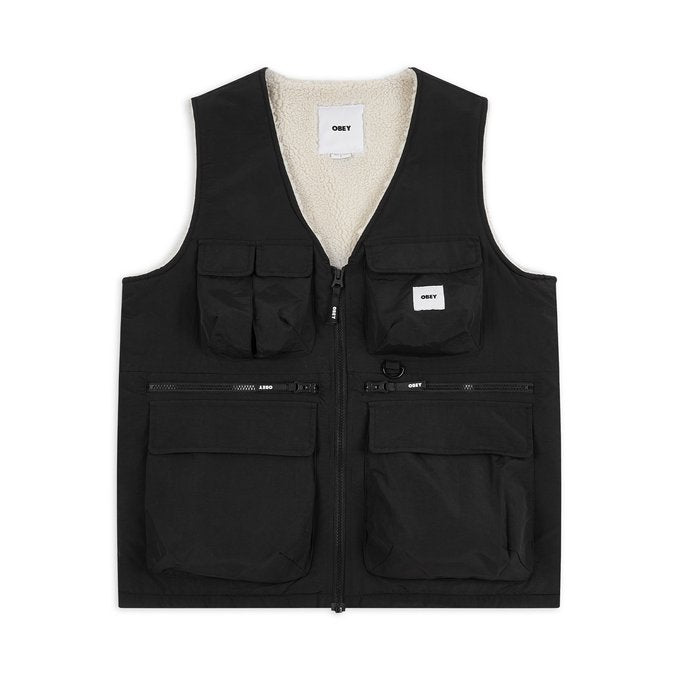 Obey External Vest Black