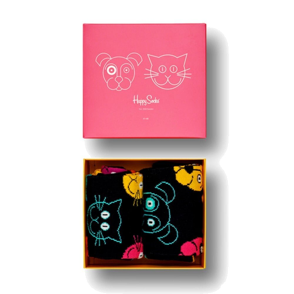 Happy Socks Cat Vs Dog Gift Box