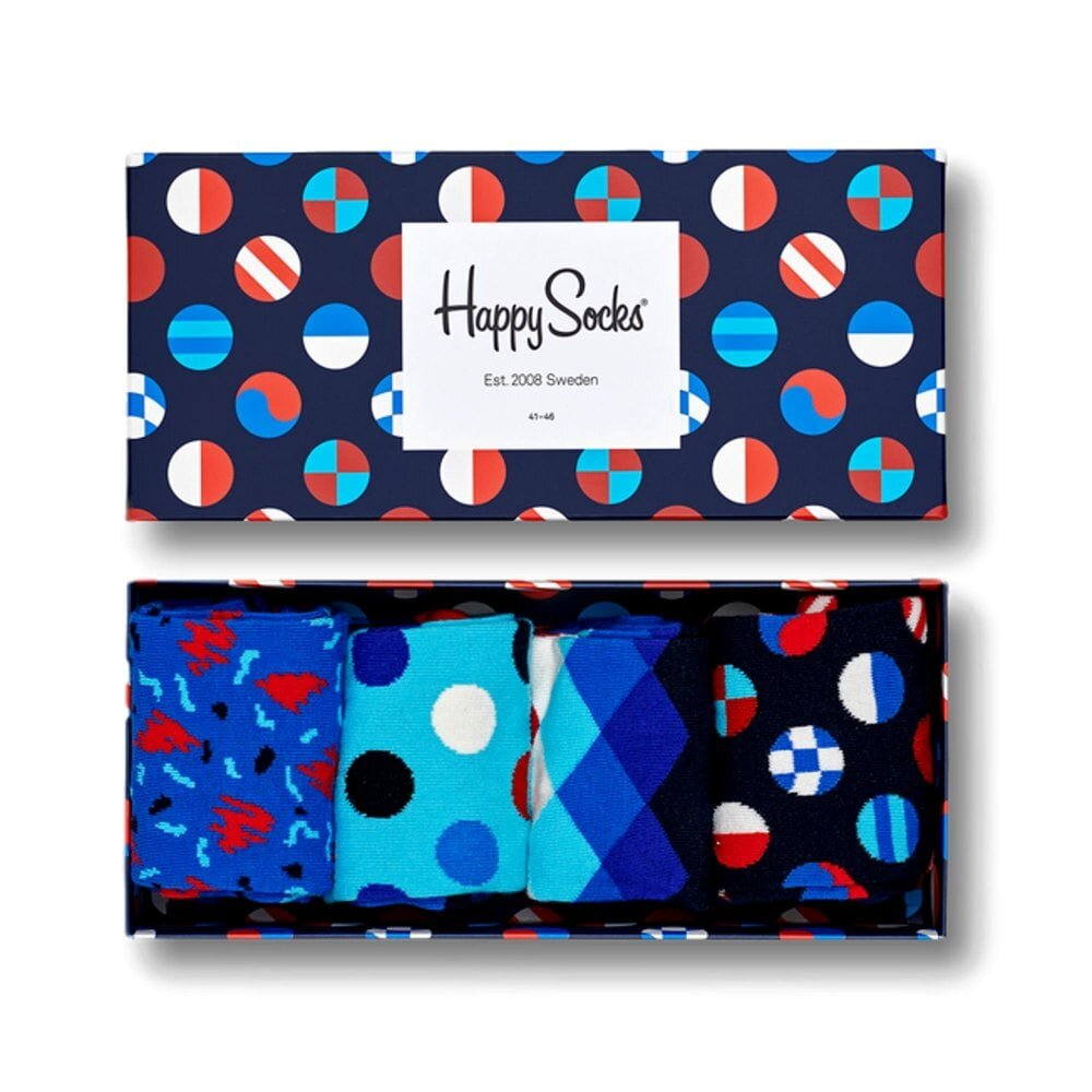 Happy Socks Navy Gift Box Navy