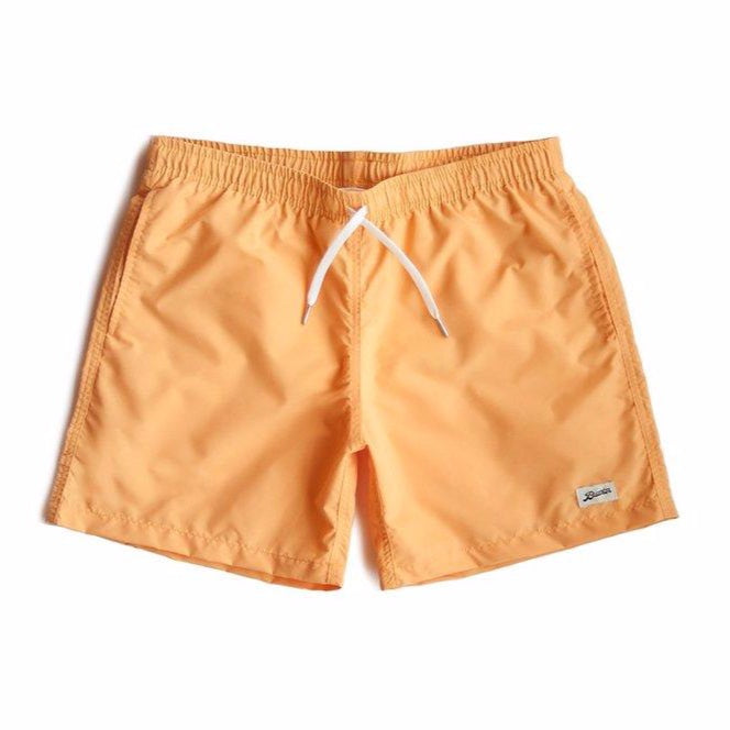 Bather Solid Swim Trunk Golden