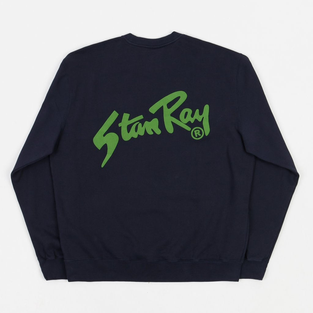 Stan Ray Crew Sweat - Navy / Green