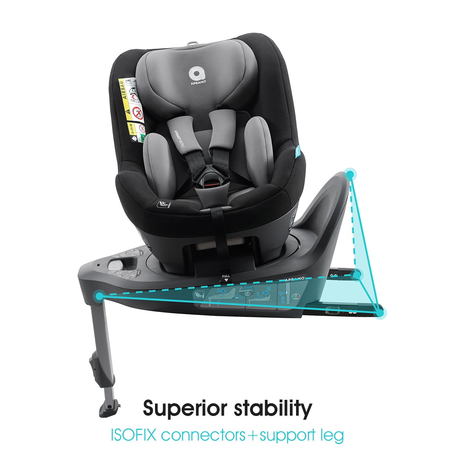 "<b>Mettro i-Size Hub </b><br>""See things from a new perspective""<br>Suitable from 40 – 105cm<br>birth to approx 4 years"