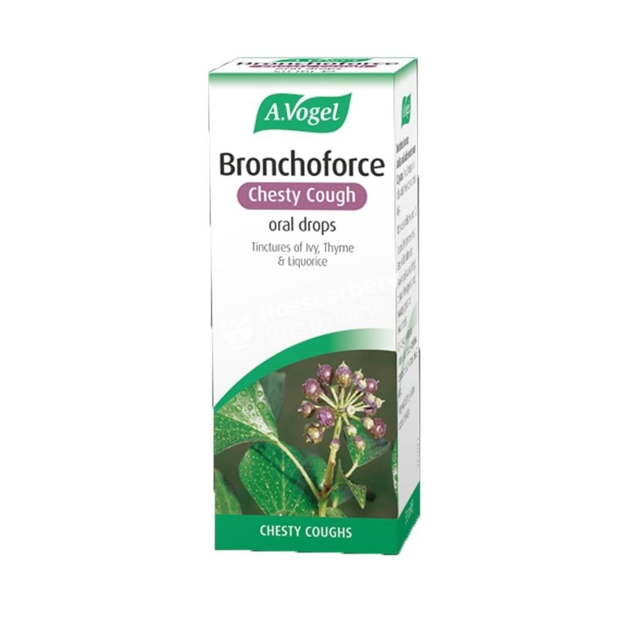 A Vogel Bronchoforce Oral Drops - Chesty Cough Herbal & Traditional Remedies