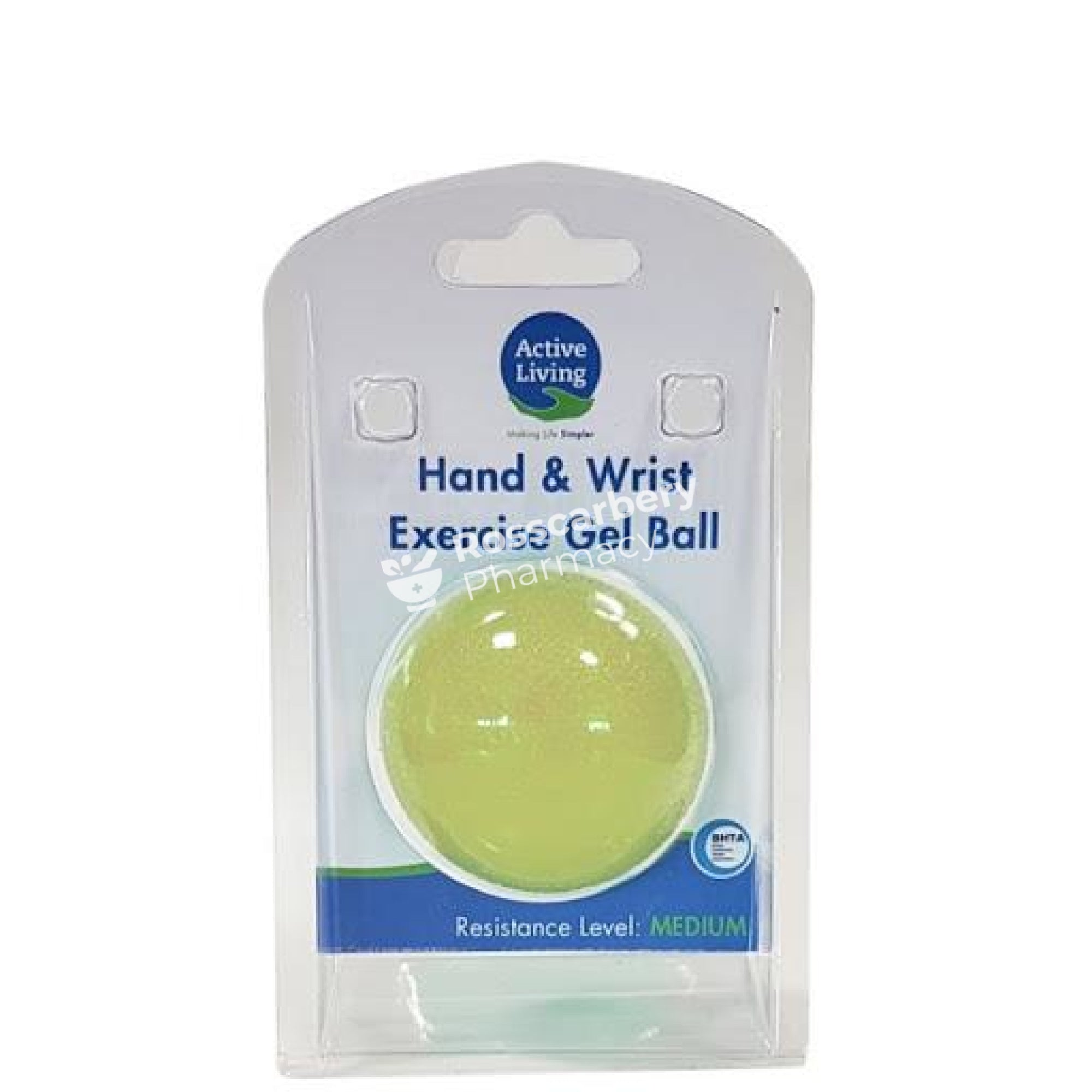 Active Living Hand & Wrist Gel Ball - Medium Resistance First Aid Accessories