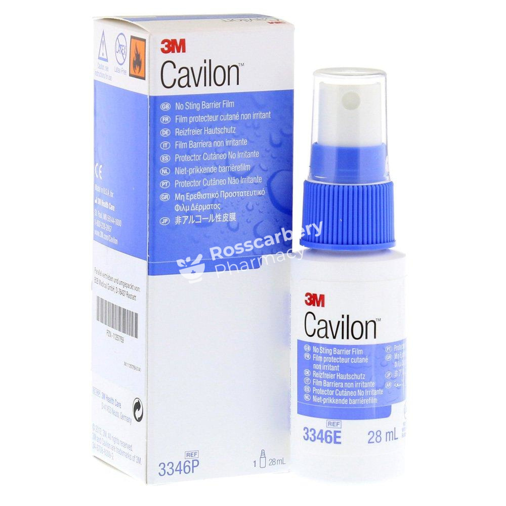 Cavilon No Sting Barrier Film Antiseptic & Wound Healing