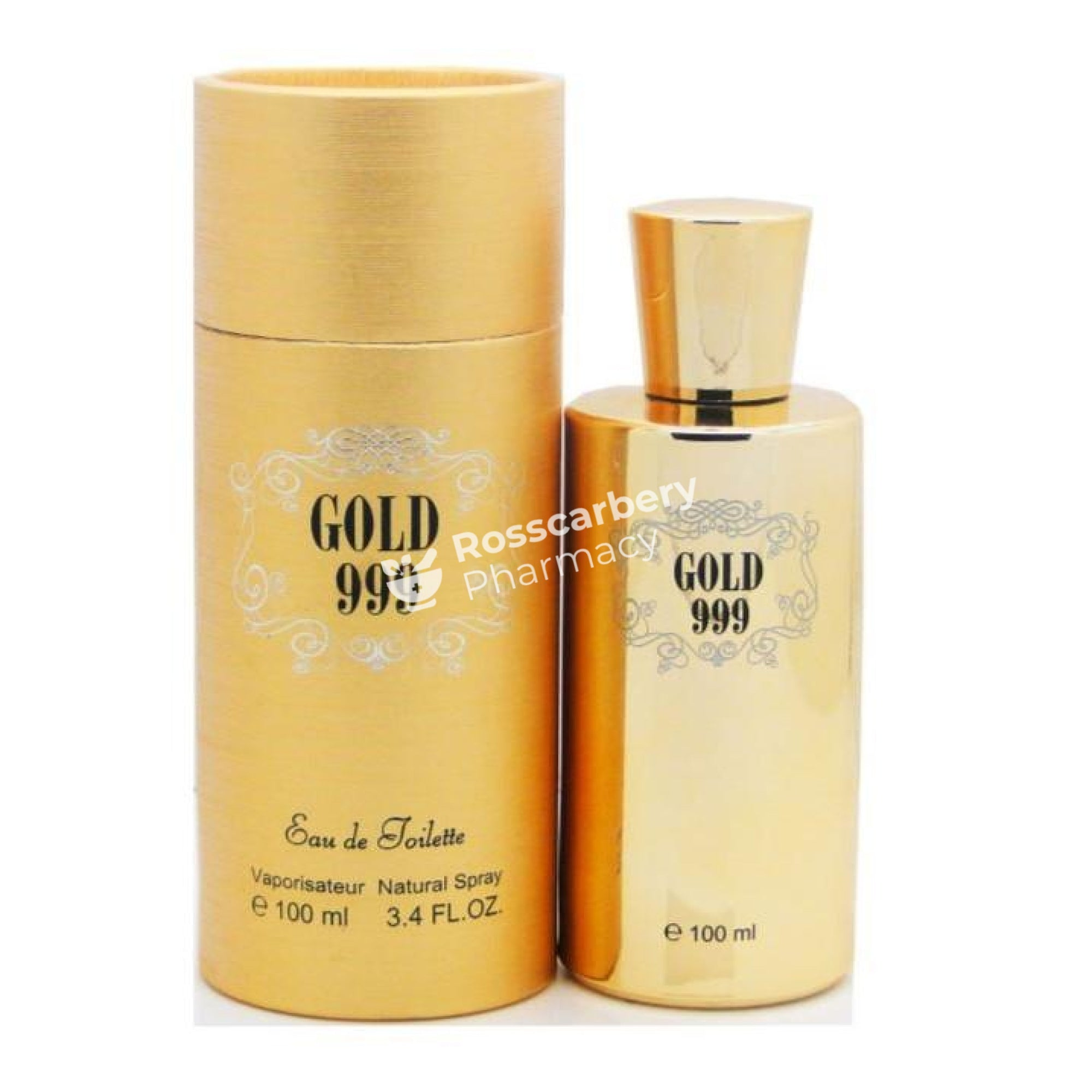 Gold 999 Edt Aftershave