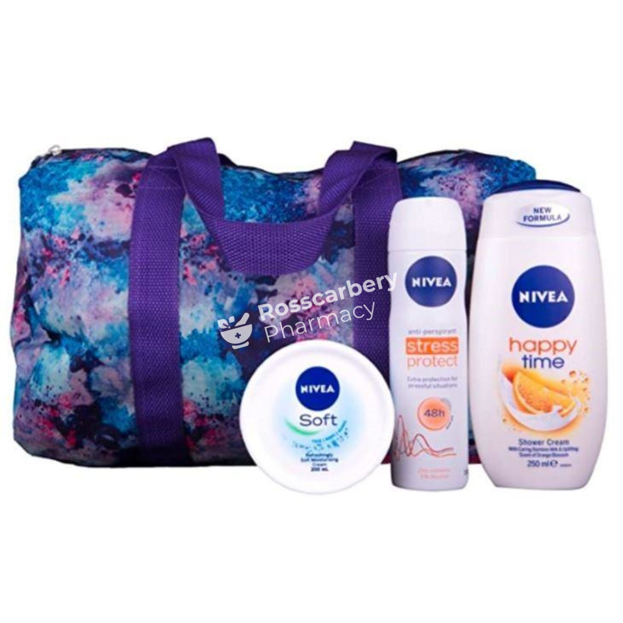 Nivea Revitalising Moments Gift Set With Shoulder Bag 3Pc Skin & Bath