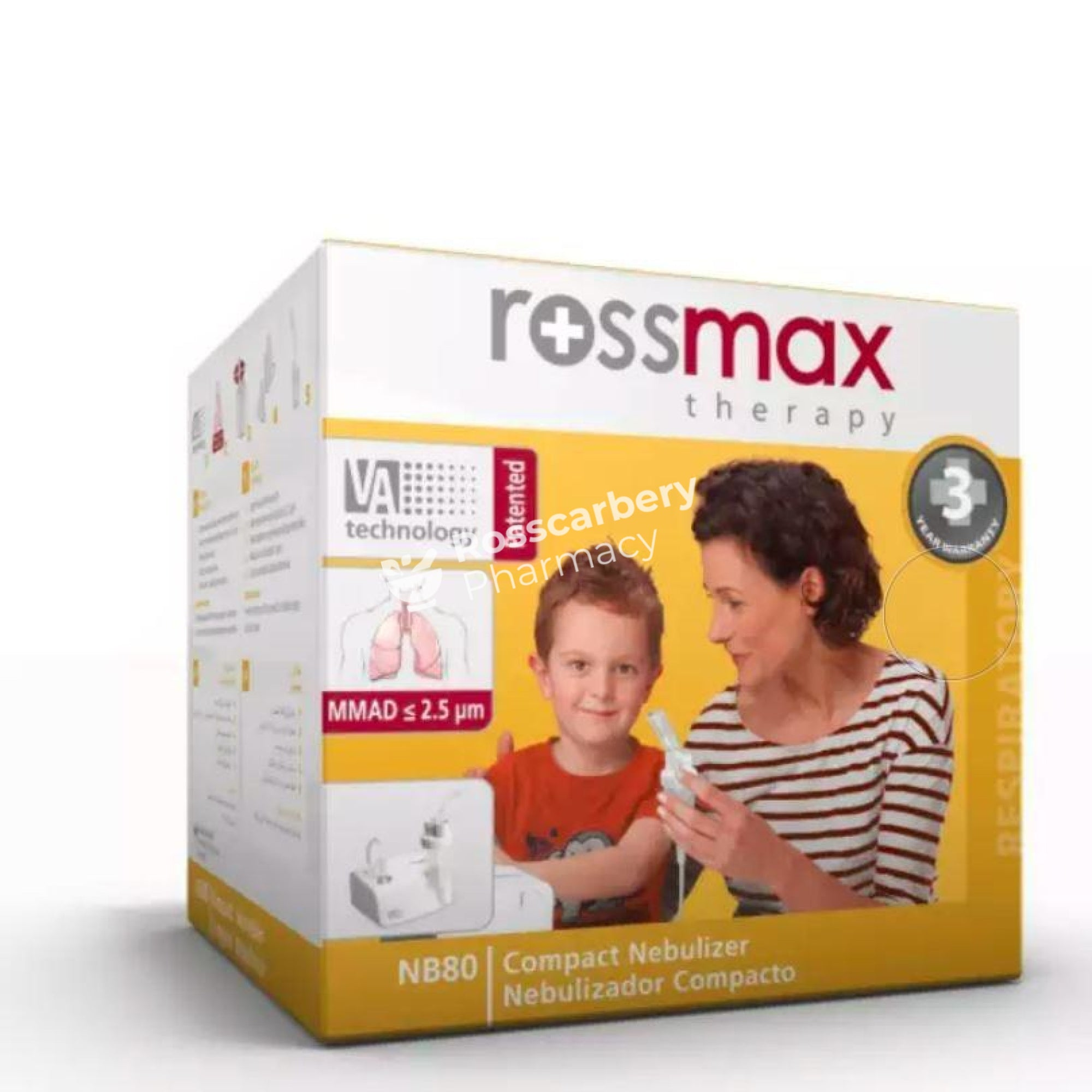 Rossmax Compact Nebulizer First Aid Accessories