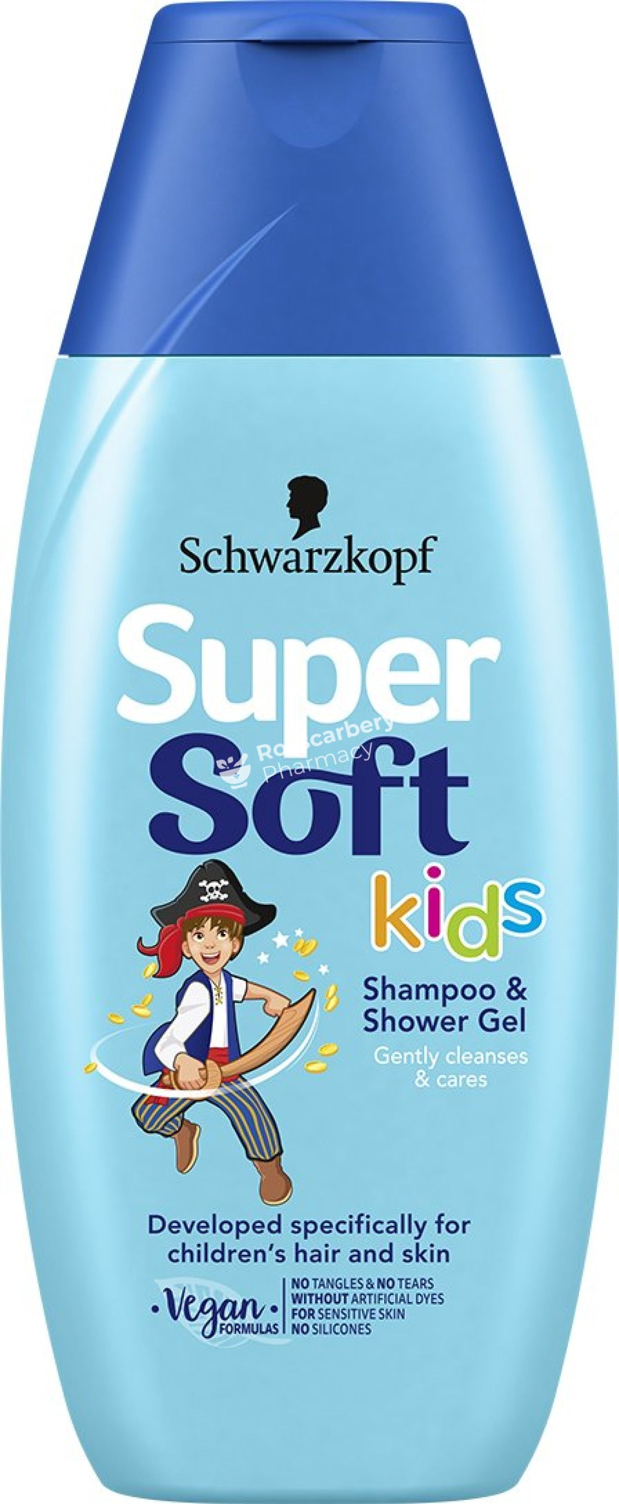 Schwarzkopf - Supersoft Kids 2In1 Shampoo & Shower Gel