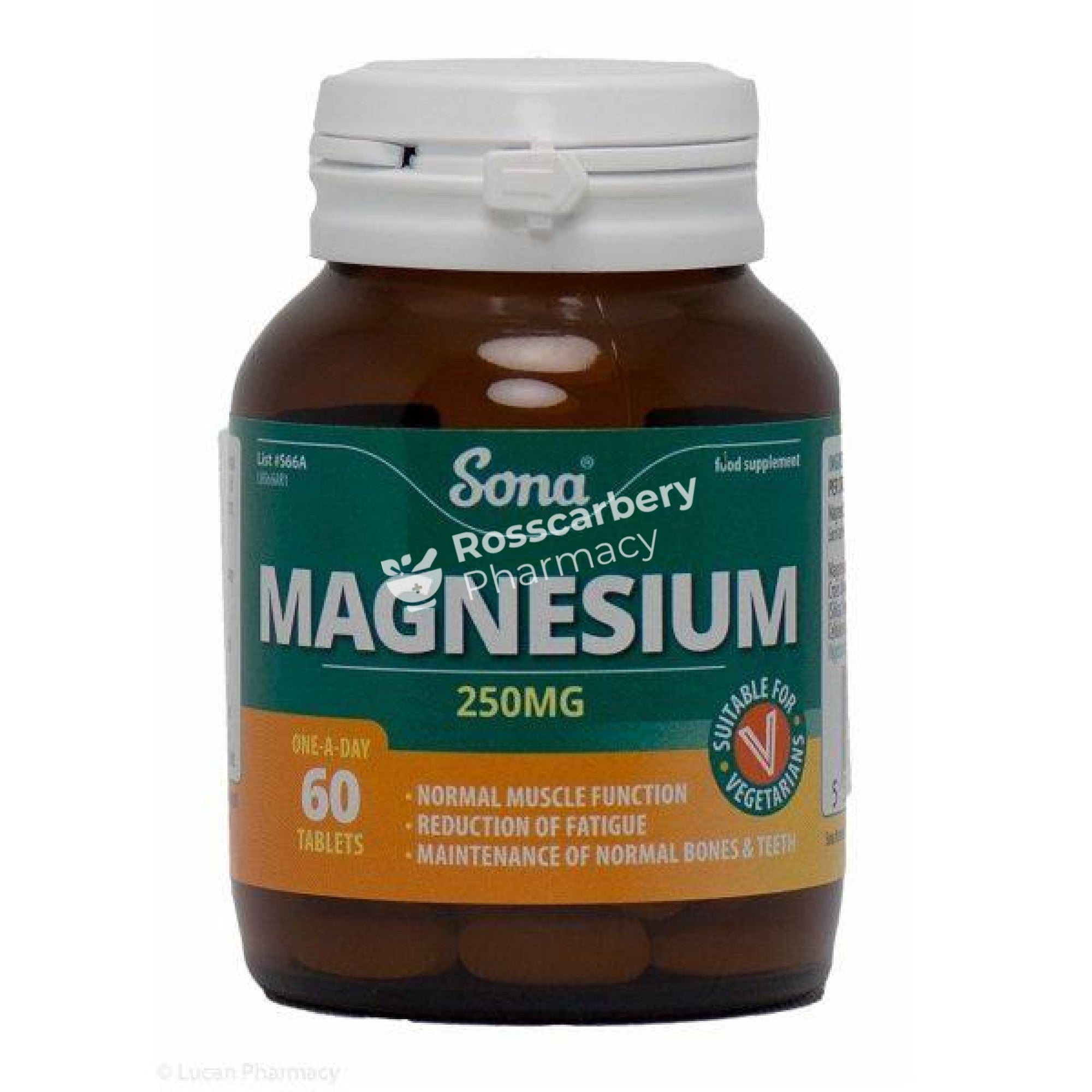 Sona - Magnesium 250Mg One-A-Day Energy & Wellbeing